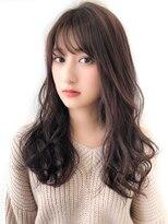 アフロートジャパン(AFLOAT JAPAN)20代30代 暗髪でもかわいい♪ロングパーマヘア 【AFLOAT 忍 】