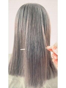 美容室ランセルの写真/『ランセル』大人気髪質改善トリートメント・ナノケラチン☆