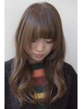 リアン(rian)【rian】小顔前髪☆アッシュピンク×カール×姫カット