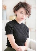 ハル(hair salon haru by little)ボーイッシュになりすぎない、ひし形ショート