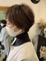 マイ ヘア デザイン(MY hair design)エアリーマッシュショート