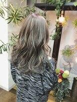 コレット ヘアー 大通(Colette hair)☆ミルクグレージュ×ハイライト☆