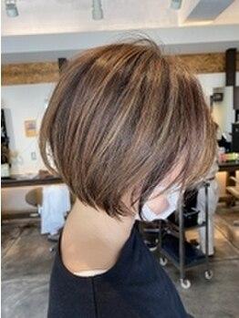 ライズヘアブランド エン(RISE HAIR BRAND en)の写真/気になる白髪もナチュラルに髪全体になじませる。明るめ、暗めなどなりたいイメージに最大限お答えします★
