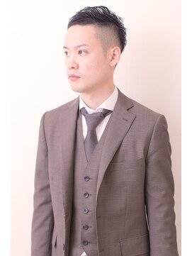 ナトゥーラ 大通店(Natura)【Natura】 黒髪 フォーマル ショート #ビジネスマン #スーツ