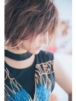 【miel hair bijoux】3Dハイライト☆無造作ウェーブ♪