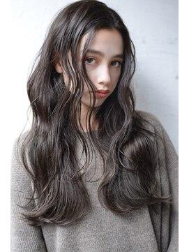 プルミー(plumy)plumyイルミナカラーxデジタルパーマxヘルシーレイヤーx黒髪