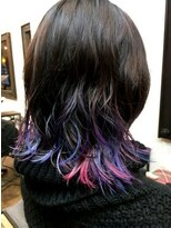 コレット ヘアー 大通(Colette hair)ユニコーン×グラデーション×ダメージレスブリーチ