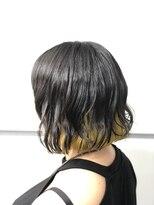 マルカ(marca)【Collar Style】 金髪とは違う!!インナーイエロー♪