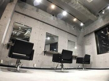 モロウ(MORROW)の写真/【梅田駅徒歩1分】大都会の中心で落ち着ける特別な空間◇実力派スタイリスト2名のみのプライベートサロン。