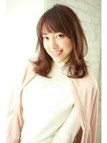 ジョエミバイアンアミ(joemi by Un ami)【joemi】カットで小顔に☆シースルーレイヤー(大島幸司)