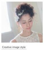 ヴェローグ シェ ブー(belog chez vous hair luxe)【Creative image styel】ウエディングアレンジ