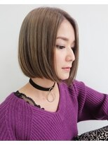 ヘアデザイン ダブル(hair design Double)ワンレンボブ