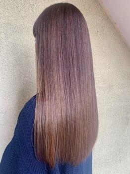 ステラノルド(Stella nord)の写真/【岡場】髪質改善/オッジィオット取扱◎つい触れたくなる毛先までなめらかな手触りに感動★憧れの美髪へ+。