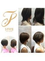 セブン ヘア ワークス(Seven Hair Works)お客様スタイル