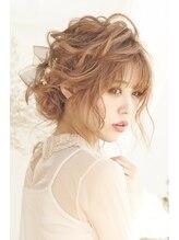 ヘアメイクサロンシャルメ(Hair Make Salon CHARMER)CHARMER☆ニュアンスシニヨン