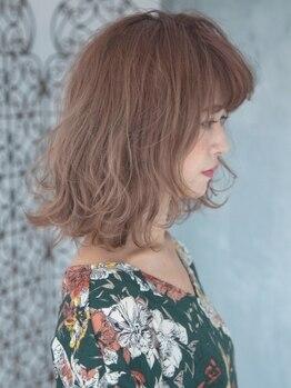 ロッソ ヘアアンドスパ 八潮店(Rosso Hair&SPA)の写真/【八潮駅徒歩1分☆】施術からスタイリングまで丁寧にあなたの髪に向き合うから再現度の高いパーマが実現!