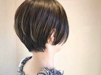 リノ(lino)の写真/【なかもず駅徒歩2分】クセや髪質に合わせたカットで手入れが簡単に♪ラフなスタイリングでお洒落になれる