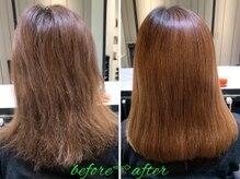 髪質改善と縮毛矯正の専門店 サンティエ(scintiller)