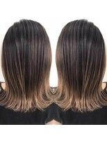 ヘアアンドビューティー クローバー(Hair&Beauty Clover)grege gradation