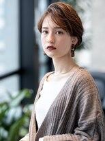 AUSTIN☆外ハネボブアッシュブラウンネオウルフツイストパーマ