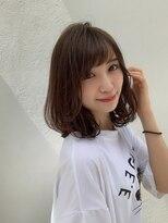 アフロート ルヴア 新宿(AFLOAT RUVUA)新宿【藤山裕大】大人可愛いモテ髪ヘア ブランジュカラー