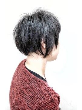 マグネットヘアートラスト(MAGNET HAIR trust)大人女子にもおすすめなショートボブ