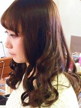美容室リアン(Lien)の写真/【新規☆パーマ¥6000】今シーズンのイメチェンに♪簡単スタイリングで朝のセットも時短にキマる☆