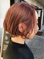 ヘアー アイス カンナ(HAIR ICI Canna)オレンジカラー