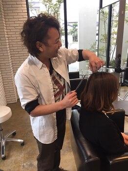 ノーム ヘアデザイン(noaM hair design)の写真/経験豊富なスタイリストが最初から最後まで担当☆あなたの魅力を最大限引き出したスタイルをご提案します!!