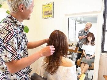 ヘアデザインワークス トリップ(HAIR-DESIGN WORKS trip)の写真/マンツーマンで丁寧にカウンセリング&施術。上質な髪とデザインであなただけのこだわりのヘアスタイルを。