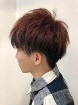 アルファ ヘアー デザイン(alpha hair design)デザインカラー ツーブロック 刈り上げ マッシュ