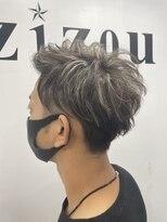 ヘアーアンドメイク ジズー(hair&make zizou)メンズハイライト ホワイトハイライト