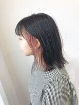 アプリバイリアン 大宮店(appri by Rien)イヤリングカラー クリアピンク