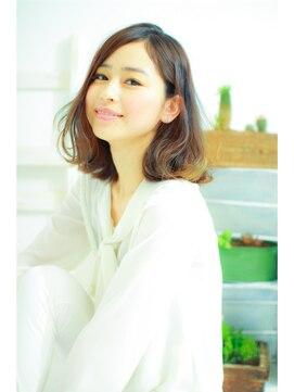ミンクス 銀座店(MINX)【MINX 蛭田】大人可愛い★ふんわりカールボブ