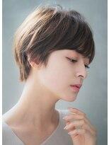 リル ヘアーデザイン(Rire hair design)【Rire-リル銀座-】美シルエット☆ハンサムショート