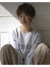ヴァンプディーバ(Vamp Diva)暖色系カラー、マッシュショート #ショート秋髪