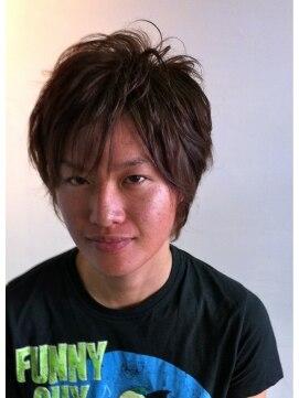 ヘアーカーブ(haircarve)haircarve夏サキドリ・アッシュカラーエアーカール