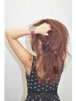 ヘアーサロン エール 原宿(hair salon ailes)(ailes原宿)style261 ハニーヘア☆ピンクウエーブ