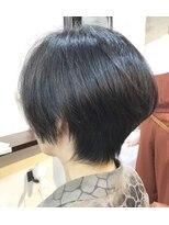 エトネ ヘアーサロン 仙台駅前(eTONe hair salon)きれいめのショートボブ