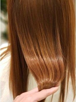 リアンマシェール(Lien ma che're)の写真/≪立花で初導入≫TVやSNSで大人気の髪質改善トリートメント[ハリスノフ]誰でもまとまるうるツヤ髪に…♪