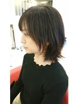 ヘアーリゾートラシックアールプラス(hair resort lachiq R+)《R+》シアーグレージュ☆ミディアム