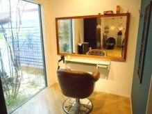 エフブンノイチ ヘアガーデン(1/f HAIR GARDEN)の雰囲気(半個室の特別空間★)