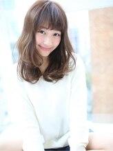 """アグ ヘアー ウォール三宮店(Agu hair wall)☆""""エアリー感""""あふれる愛されセミロング☆"""