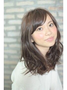 アーツ 町田店(Hair&Make arts)大人可愛い☆小顔セミディ☆