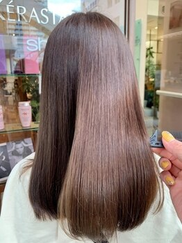 カッツ 元町店(CUT S)の写真/柔らかく艶のある髪に★CUT・Sのストレートで晴れの日も雨の日もノンストレスに毎日を過ごしませんか?
