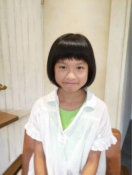 ヘアースタジオ ランプ 浦安(Hair Studio Lamp)キュートキッズボブ(^-^)