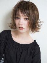 MY hair design ウェットショートボブ 三角祐太