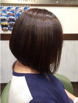 フェリーチェ ヘア ルーム(Felice Hair Room)の写真/一人一人のクセやダメージの合わせて厳選した薬剤を使用するので、ツヤ感と自然な質感が魅力です!!