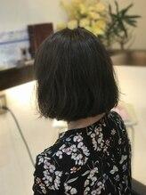 グリュック(Gluck Organic hair)軽やかボブスタイル