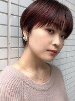 ファースト 仙台店(first)【松根ショート】大人かわいいマニッシュショート×ブロッサム